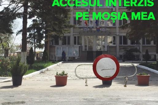 accesul-interzis-primaria-oltenita